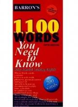 فلش کارت 1100 واژه که بايد بدانيد ویرایش پنجم