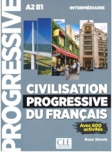 کتاب Civilisation progressive du francais - nouvelle edition Intermediaire: Livre + CD