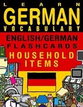 کتاب Learn German Vocabulary - English/German Flashcards