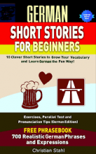 خرید کتاب german short stories for beginners
