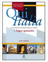 کتاب 1 Qui Italia Lingue e Grammatico