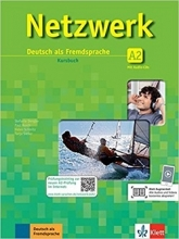 کتاب Netzwerk A2 Kursbuch und Arbeitsbuch mit CD