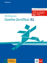 کتاب آزمون گوته آلمانی Mit Erfolg zum Goethe-Zertifikat B2 Testbuch 2019