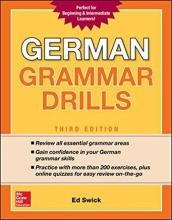 کتاب   German Grammar Drills, Third Edition
