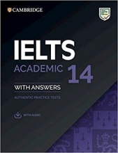 کتاب آیلتس کمبریج IELTS Cambridge 14 Academic with CD
