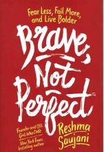 کتاب شجاع نه بی نقص Brave Not Perfect