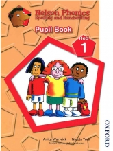 Nelson Phonics Red 1 - Spelling And Handwriting - Pupil Book