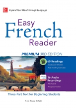 کتاب Easy French Reader Premium 3rd Edition