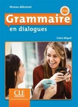 کتاب Grammaire en dialogues - debutant + CD - 2eme edition