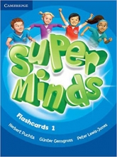 فلش کارت Flash Cards Super Minds 1