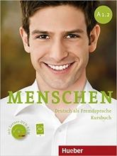 کتاب Menschen A1.2 kursbuch + Arbeitsbuch + DVD