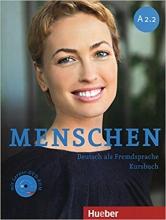 کتاب Menschen A2.2 kursbuch + Arbeitsbuch + DVD