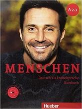 کتاب Menschen A2.1 kursbuch + Arbeitsbuch + DVD