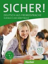 کتاب  Sicher! C1.2 Lektion 7-12 kursbuch + Arbeitsbuch + DVD
