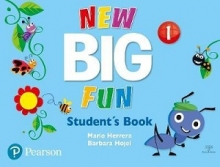 کتاب نیو بیگ فان  NEW Big Fun 1 SB+WB+CD