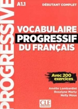 کتاب Vocabulaire Progressif Du Francais A1-1 - Debutant Complet +Corriges+CD