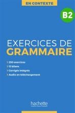 کتاب زبان En Contexte : Exercices de grammaire B2 + CD + corrigés