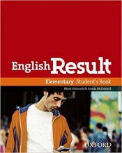 کتاب آموزشی انگلیش ریزالت English Result Elementary Students & Work & Answer Key&CD+DVD رنگی