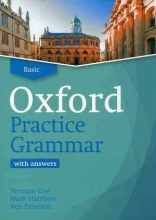 کتاب آکسفورد پرکتیس گرامر بیسیک ویرایش جدید Oxford Practice Grammar Basic New Edition With CD