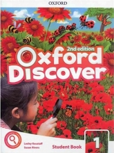 کتاب Oxford Discover 1 2nd - SB+WB+DVD