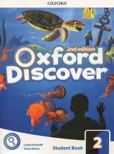 کتاب آکسفورد دیسکاور ویرایش دوم Oxford Discover 2 2nd - SB+WB+DVD