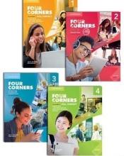 مجموعه 4 جلدی فور كورنرز  ويرايش دوم Four Corners Second Edition