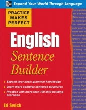 كتاب Practice Makes Perfect: English Sentence Builder