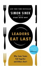 كتاب Leaders Eat Last