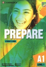 كتاب Prepare 2nd 1 - A1 - SB+WB+2DVD