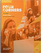 كتاب معلم (Four Corners Level 1 Teacher's Edition (2ND