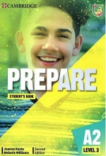 كتاب Prepare 2nd 3 - A2 - SB+WB+2DVD