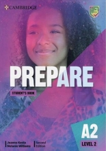 كتاب Prepare 2nd 2 - A2 - SB+WB+2DVD