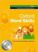 کتاب زبان آکسفورد ورد اسکیل بیسیک Oxford Word Skills Basic With CD سايز بزرگ