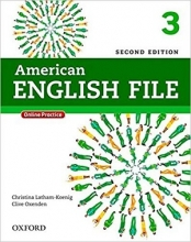 American English File 2nd Edition: 3 (S.B+W.B+2CD+DVD)