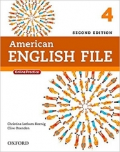 American English File 2nd Edition: 4 (S.B+W.B+2CD+DVD)