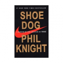 كتاب Shoe Dog - A Memoir by the Creator of NIKE