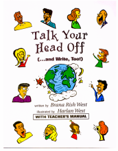 کتاب تاک یور هد آف  Talk Your Head off