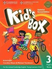 كتاب Kids Box 3 - Updated 2nd Edition SB+WB+CD