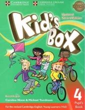 كتاب Kids Box 4 - Updated 2nd Edition SB+WB+CD