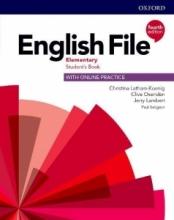 كتاب انگلیش فایل المنتری ویرایش چهارم English File Elementary (4th) SB+WB+CD