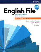 كتاب انگلیش فایل پری اینترمدیت ویرایش چهارم  English File Pre-intermediate (4th) SB+WB+CD