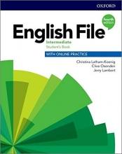كتاب انگلیش فایل اینترمدیت ویرایش چهارم English File intermediate (4th) SB+WB+CD