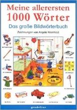 كتاب Meine allerersten 1000 Wörter Das große Bildwörterbuch