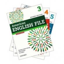 پکیج 3 جلد آخر کتابهای امریکن انگلیش فایل ویرایش دوم American English File رحلی