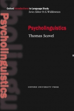 كتاب Oxford Introduction to Language Study Series: Psycholinguistics