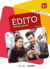 کتاب فرانسه اديتو Edito 3 niv.B1 + Cahier + DVD