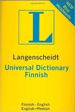كتاب Finnish Langenscheidt Universal Dictionary