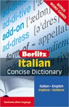 كتاب Berlitz Italian Concise Dictionary