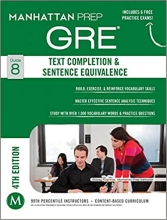 كتاب GRE Text Completion & Sentence Equivalence