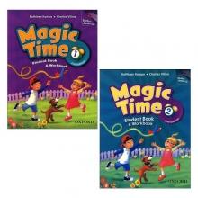 مجموعه 2 جلدی کتاب مجیک تایم 1 + 2 Magic Time